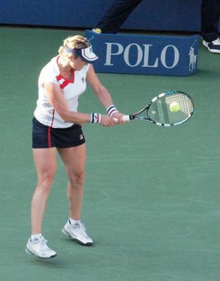 Kim Clijsters  se despide del US Open