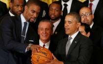Obama recibe al equipo Miami Heat en la Casa Blanca