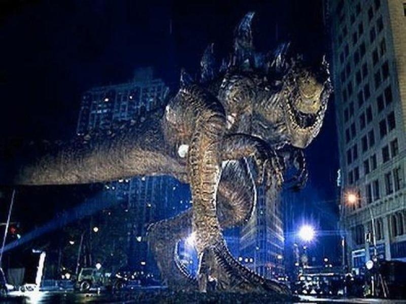 """""""Godzilla"""" arrasa la taquilla norteamericana en su estreno"""