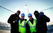 Wilder y Szpilka posaron en el  World Trade Center