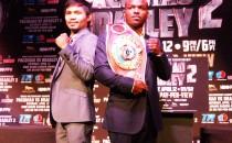 Manny Pacquiao se enfrentará a  Timothy Bradley
