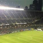 Suspenden  partido Colombia vs. Chile por tormenta
