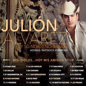 Julión Álvarez y Su Norteño Banda  en Concierto en el Madison Square Garden