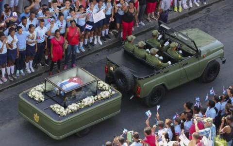 Las cenizas de Fidel fueron resguardadas en una roca