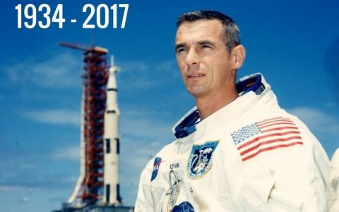 Murió Gene Cernan, el último en pisar la Luna