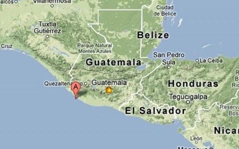 Fuerte sismo de 6.8 grados sacudió Guatemala